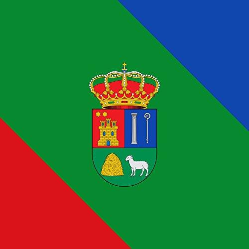 magFlags Bandera Large Pedrosa del Páramo, Burgos, España | 1.35m² | 120x120cm
