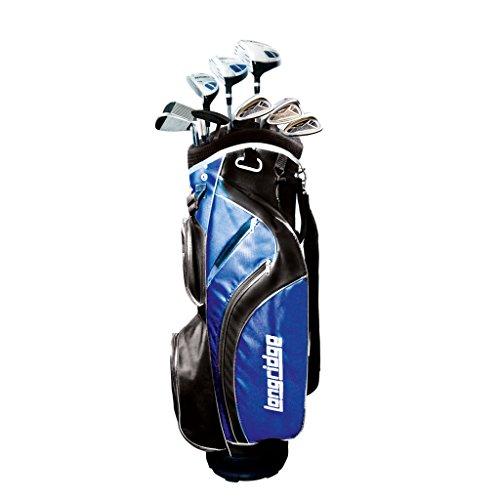 LONGRIDGE PAFSVECTL12GRLH Vector Kit de Golf Noir/Bleu