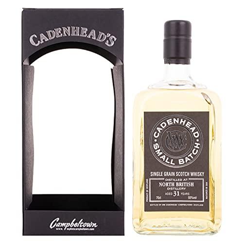 Cadenhead's Cadenhead's NORTH BRITISH 31 Years Old SMALL BATCH Single Grain Scotch Whisky 1985 55% Vol. 0,7l in Giftbox - 700 ml