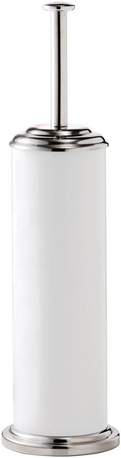 Croydex ☆新作入荷☆新品 Freestanding Stainless Steel 爆安プライス Brush and Toilet White