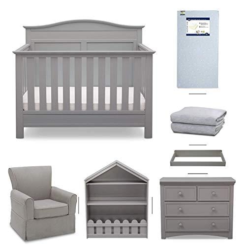 serta barrett 7 piece nursery furniture