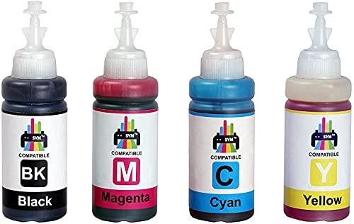 SVM Refill Ink for HP DeskJet 2331 Multi-Function Color Printer Compatible with HP Cartridge 805/803/680/678/818/802/901/703/704/46/21/22/27/28/56/57 Multi-Color Ink