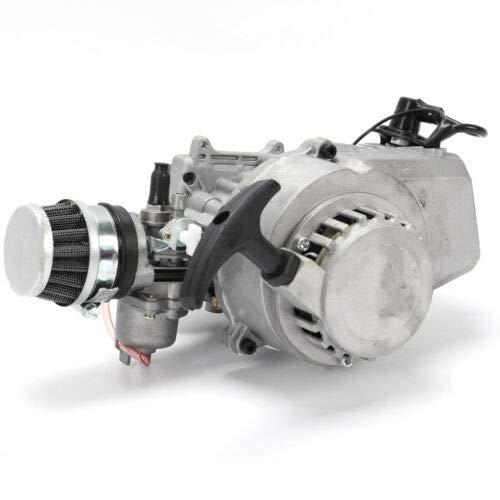 QIZHI 49CC 2-Stroke Engine Motor Compatible for Mini Moto Scooter Quad Dirt ATV Bike, US Stock
