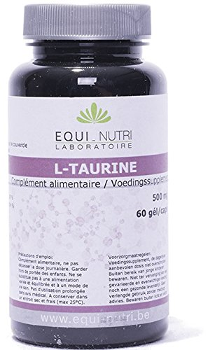 EQUI NUTRI ORTHOMOLÉCULAIRES - L-Taurine - 60 gélules