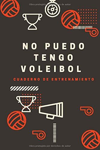 Cuaderno de entrenamiento: Un libro de entrenamiento para fanáticos del voleibol | cuaderno de entrenamiento cardiovascular y de fuerza | Planifica ... progreso | Fácil y práctico | Ahorrar tiempo