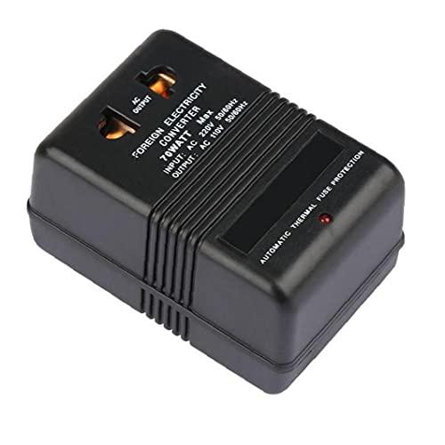 Reisadapter Voltage Converter 220V naar 110v Stap Down Converter 70W Power Inverter Electricity Converter Blackstep Down…
