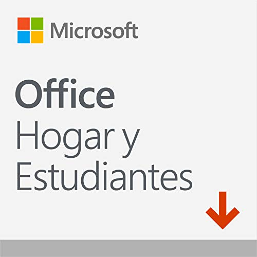 Microsoft Office Hogar y Estudiantes - Software para PC o Mac, 1 Usuario, Versión 2019 – Descargable