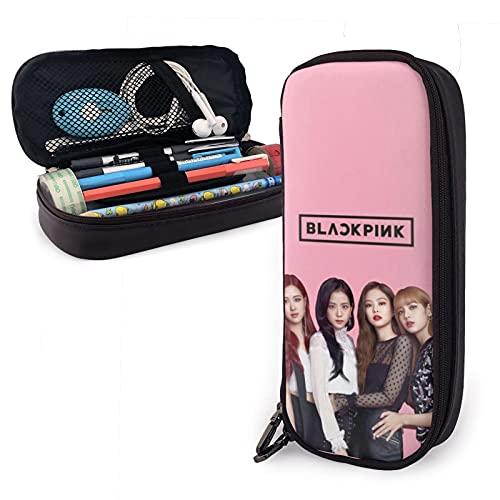 Black-Pink Albums Ice Cream Kill This Love Jisoo, Jennie, Rosé, Lisa Popular bolsa de lápices de oficina papelería bolsa de tela cosmética 2021.0 niños, niñas, niños, estudiantes