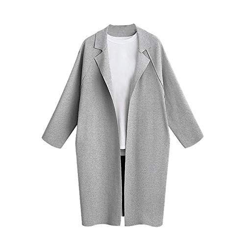 Damen Moderne Mantel Ältere Winterjacken Gesteppte Winterjacke Frauen Damen Strickjacken Für Übergangsjacke Damen Mantel Grau Schwarz Lange Damen Jacke Damen Strickjacke Beige Dunkelgrüner Trenchcoat