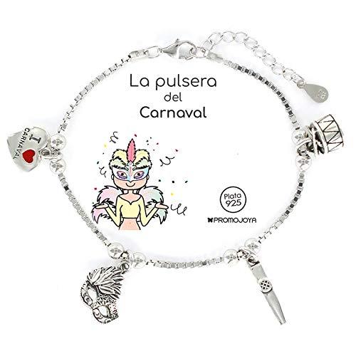 Eres lo mas mujer Pulseras Deportes, Aficiones, Fiestas, Plata (Carnaval)