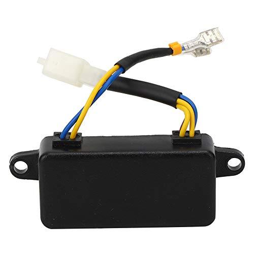Regulador de voltaje automático del generador negro AVR automático 220uF 250V 1000-3000W...
