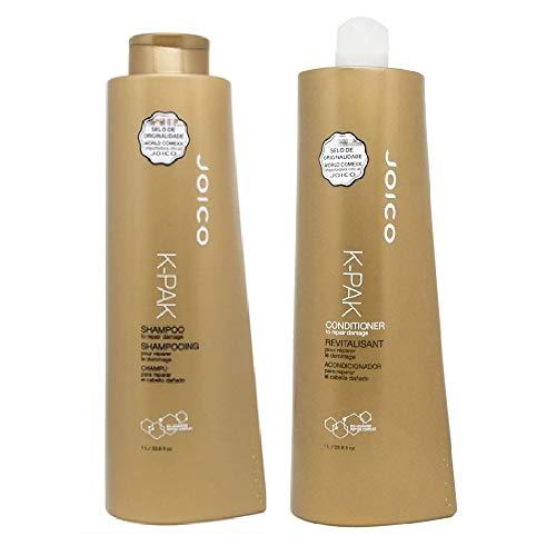 Kit Joico K-pak To Repair Damage Shampoo 1000ml + Condicionador 1000ml