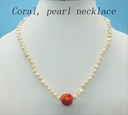 collar de coral antiguo