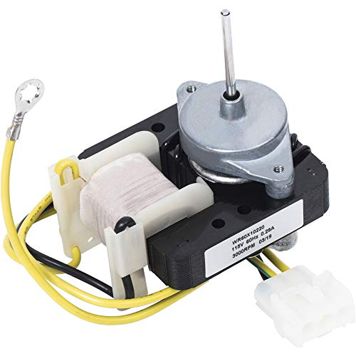 WR60X10220 Refrigerator Condenser Fan Motor Replacement Part by Blue Stars – Exact Fit for GE & Hotpoint Refrigerators