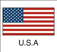 タカ印 国旗シール U.S.A(アメリカ) 【1冊96片入り】 22-2500