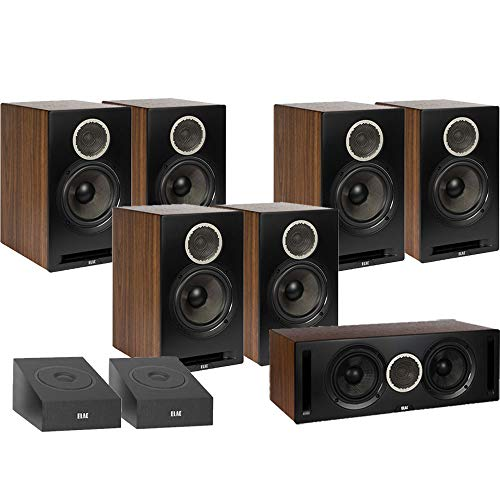 Find Bargain ELAC Debut Reference DB62 9.0 Channel Bookshelf Surround Sound Dolby Atmos Home Theater...