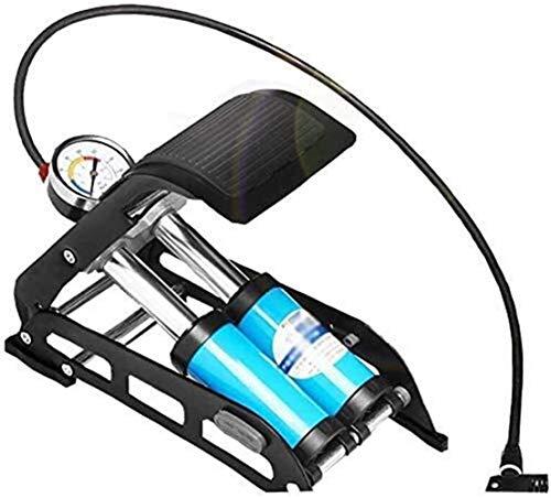 Bomba de aire de alta gama para bicicleta/coche/bola/bicicleta bomba de aire de alta presión, pedal bicicleta coche eléctrico, tubo inflable portátil plegable