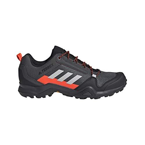 adidas Terrex AX3, Chaussure de Trail Homme, DGH Solid Grey Grey One Solar Red,...