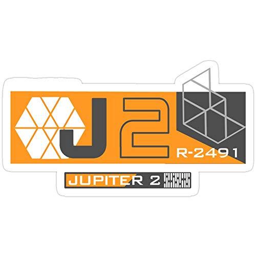 Rangerpolocon Jupiter 2 – Inspired by Lost in Space Aufkleber (3 Stück/Pack) 5300020699671