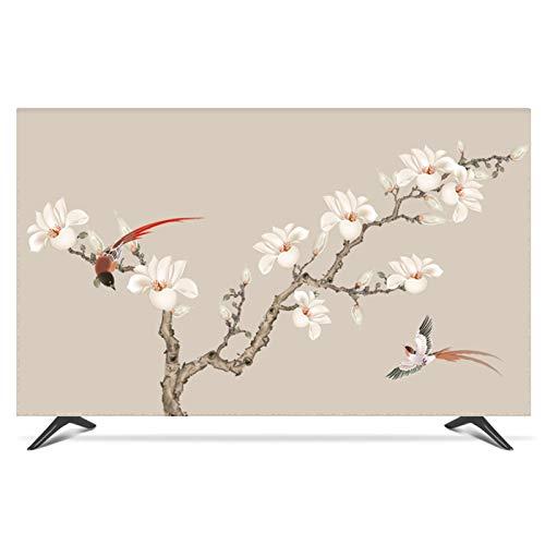 ZHAOFENGE-maotan Fernseher Bildschirmschutz Abdeckung TV Hülle High Definition Druck Bildschirmen Deko für 22-80 Zoll TV/Monitor Bildschirm(Color:B,Size:32inch)