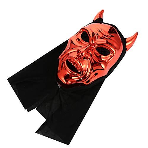 TOYANDONA Halloween Horror Demon Mask Satan Paw sin Mentn Mscara del Partido del Tema Favores de Disfraces de Halloween