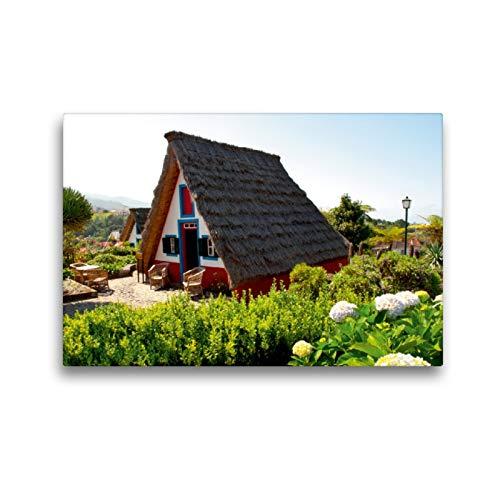 Premium Textil-Leinwand 45 x 30 cm Quer-Format Santana Bauernhaus | Wandbild, HD-Bild auf Keilrahmen, Fertigbild auf hochwertigem Vlies, Leinwanddruck von Oliver Hoppe