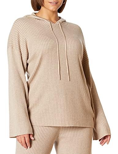 The Drop - Sudadera Clancy con capucha, para mujer, ajustable con cordón