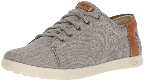 Chaco Women's Ionia Lace Up Shoe, Gray, 6 M US