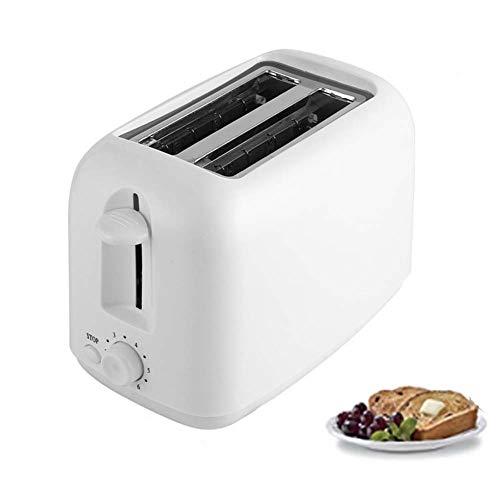 2-Slice Toaster, Met 7 Temperature Instellingen Huis Sandwich Ontbijt Machine, Extra Wide Slot, Volautomatische Ontbijt Broodrooster