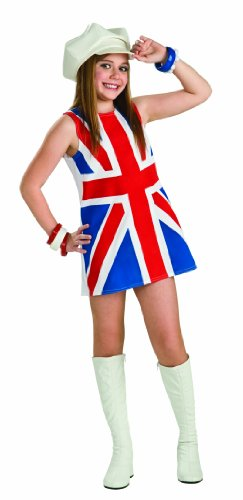 Rubie's British Invasion Costume, Child's Small