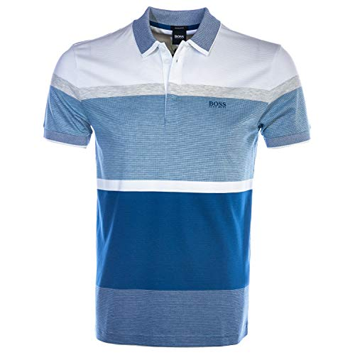 BOSS Paddy 4 Polo Shirt in Blue