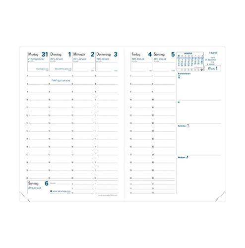 Einlage Geschäftbus 2021: Kalender-Einlage