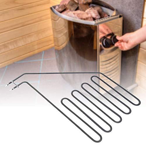 Redxiao Elektrische Saunaröhre, korrosionsbeständiges Saunaofenelement mit guter thermischer Effizienz, zuverlässiges Saunen-Fitnesscenter für Badezimmer Home SPA-Raum(SAV-3000W)