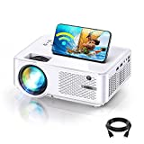 """BOMAKER HD Outdoor WiFi Mini Projector, Wireless Movie Projector for iPhone, Native 1280x800P, 1.2 Short Throw, 100"""" Display Supported, Compatible with Phone/TV Stick/HDMI/PS5/USB"""