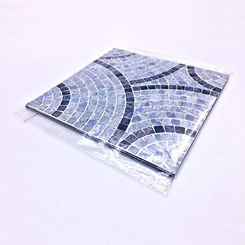 ukYukiko - Juego de 10 pegatinas autoadhesivas de mosaico de PVC para decoración del hogar