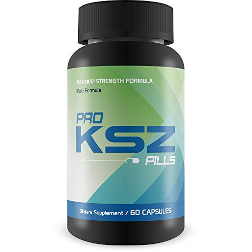Pro KSZ Pills - Enlargement Formula - Support Tissue Expansion & Muscle Growth - Improved Blood Flow to Vital Areas - Top Grade Male Formula for Improved Male Function & Drive