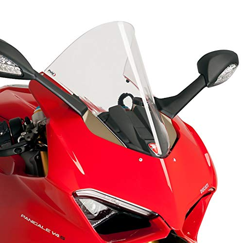 Racingscheibe für Ducati Panigale V4/ S 18-19 klar Puig 9690w