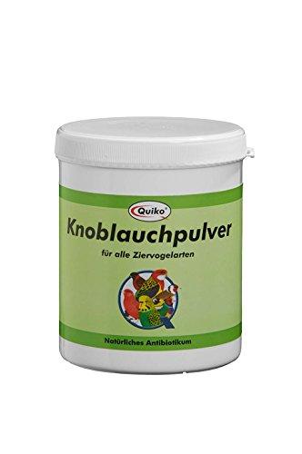 Quiko knoflookpoeder - voor alle siervogelsoorten, per stuk verpakt (1 x 400 g)