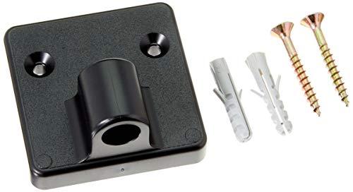 Efalock Professional Haartrockner-Wandhalter, schwarz, 0,13 kg