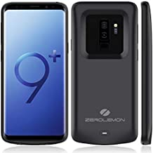 Galaxy S9 Plus Battery Case, ZeroLemon Slim Power 5200mAh Extended Battery with Soft TPU Full Edge Protecton Case for Galaxy S9 Plus - Black
