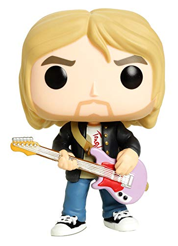 Funko - Rock-Kurt Kobain (Live&Loud) Figurina, Multicolor, 26091