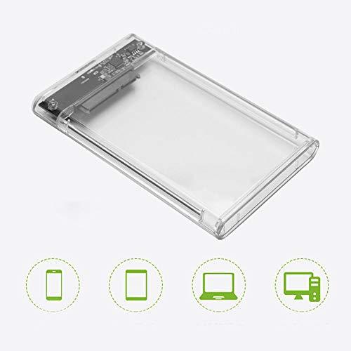 Wendry mobiele harde schijf doos, transparant, USB3.0 hoge snelheid 6Gbps transmissiesnelheid, gebouwd om strenge kwaliteit controle normen, fijne afwerking voor 2.5inch 7-9.5mm SATA HDD/SSD