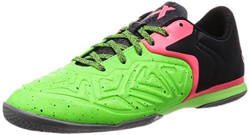 adidas , Herren Futsalschuhe, schwarz / rot / grn, 42