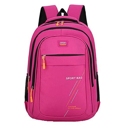 Mochila de senderismo, bolsa ligera de camping para exteriores, resistente al agua, mochila escolar para estudiantes
