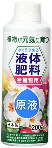 紀陽除虫菊 水で薄める液体肥料 液体肥料200ml 日本製 K-2611