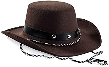 Baby Sized Cowboy Western Rodeo Hat Brown, Brown, Size 3-20 Months