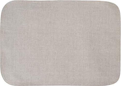 Sander abwischbare, fleckversiegelte Tischdecke Bistro Allegro, 100x140 cm, Farbe 19- Sand/beige