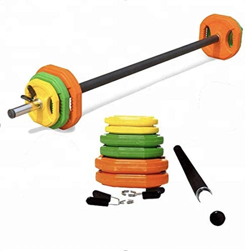 Gym Equipt UK Body Pump Barbell 20KG Weight Set