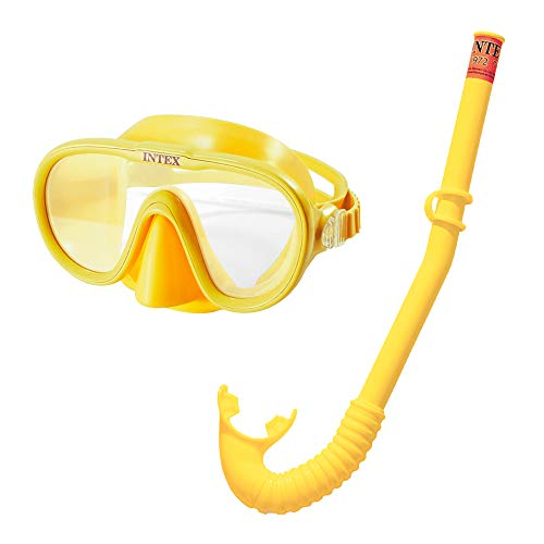 Intex set masker en snorkel. multicolor