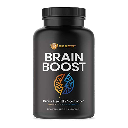 Brain Supplement Nootropic Booster - Energy and Focus Blend for Enhanced Concentration, Memory & Clarity - Mind Enhancing Supplement - Brain Boost Pills for Men & Women (60 Capsules)
